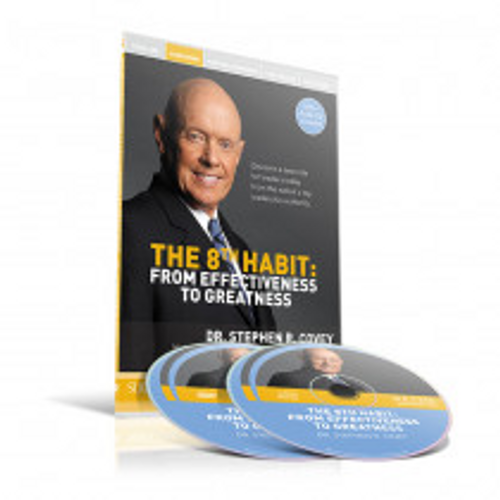 The 8th Habit DVD/CD Set by Stephen Covey