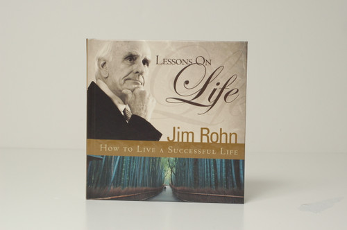 Lessons on Life Gift Book by Jim Rohn