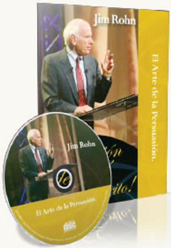 El Arte De La Persuasion Spanish CD by Jim Rohn