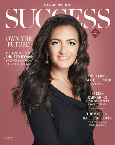 Success Magazine December 2017 - Jennifer Hyman