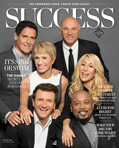 Success Magazine March 2018 - Shark Tank