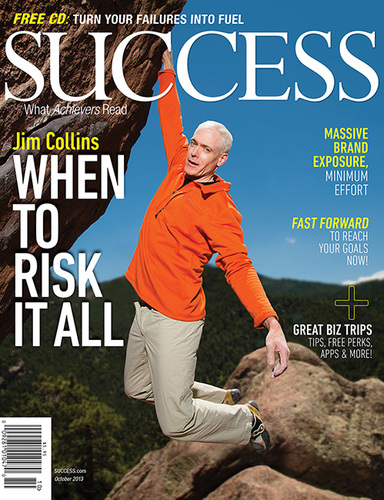 SUCCESS Magazine October 2013 - Jim Collins