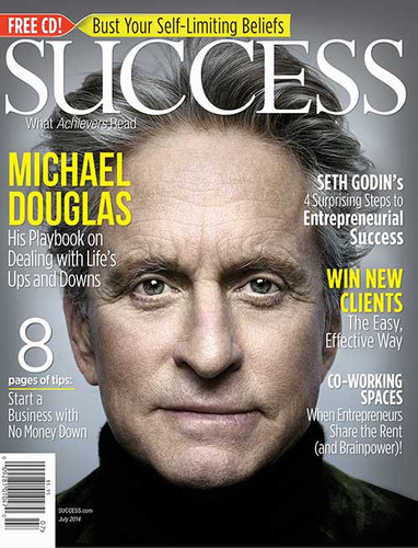 SUCCESS Magazine July 2014 - Michael Douglas