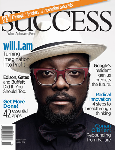 SUCCESS Magazine October 2014 - will.i.am