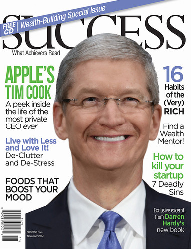 SUCCESS Magazine November 2014 - Tim Cook