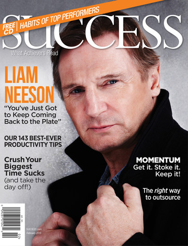 SUCCESS Magazine February 2015  - Liam Neeson