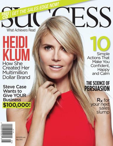 SUCCESS Magazine May 2015  - Heidi Klum