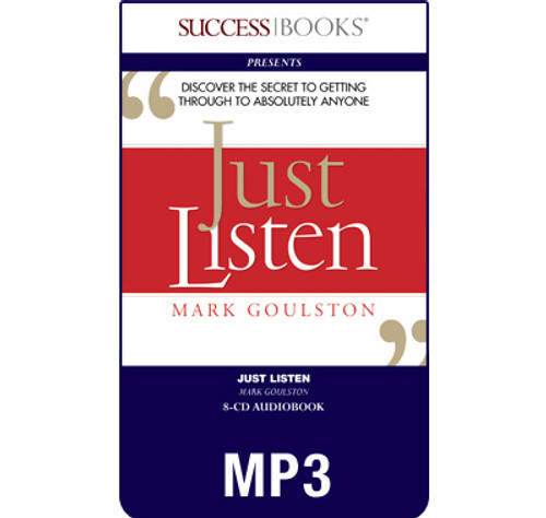 Just Listen MP3 download audiobook by Mark Goulston