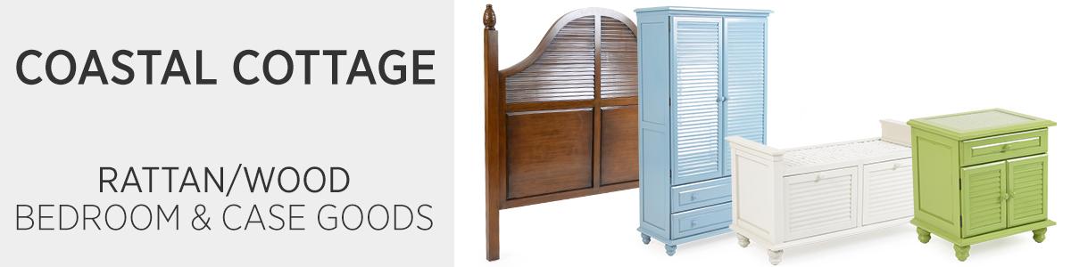 Coastal Cottage Bedroom & Case Goods