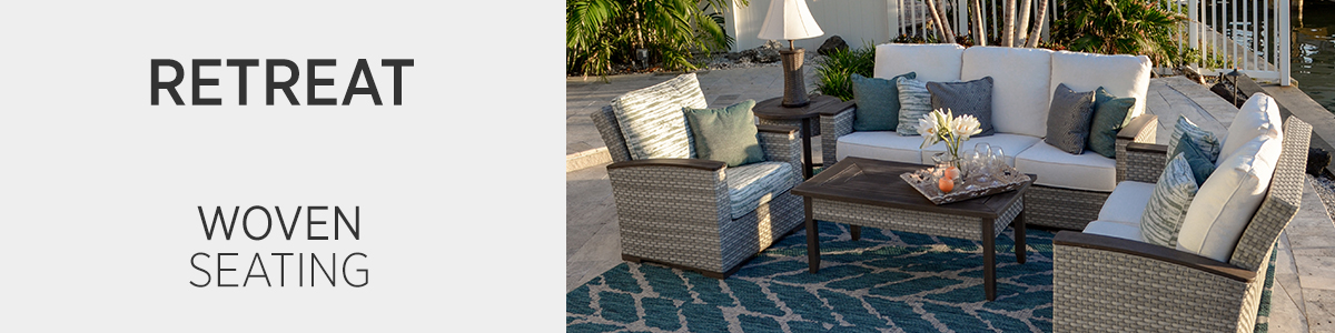Retreat Woven Seating