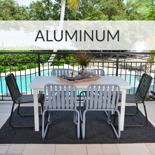 Aluminum Furniture: Out of the House, Not Out Of Mind