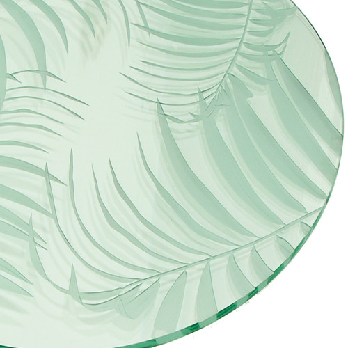 Caba Carved Glass Table Top