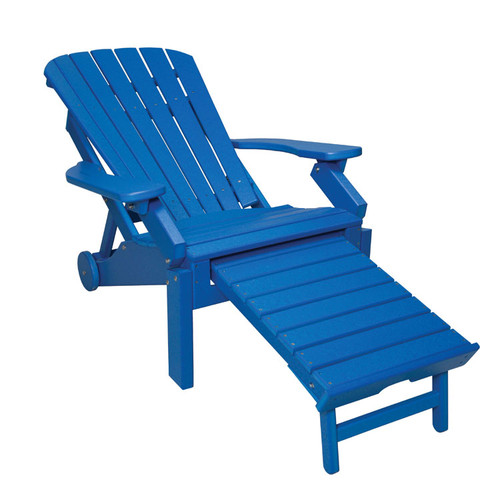 Oceanside Reclining Adirondack (reclined back)