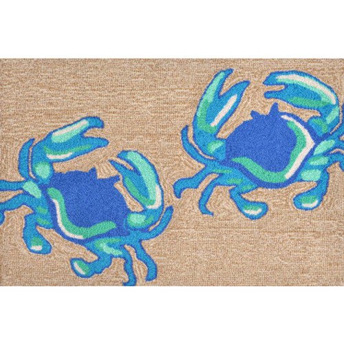Blue Crabs Welcome Mat