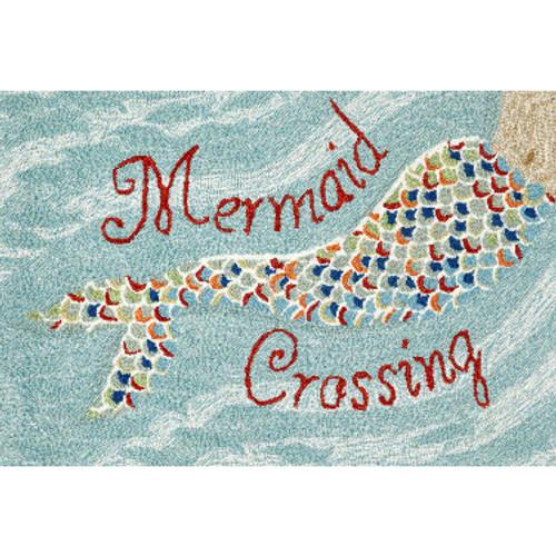 """Mermaid Crossing"""" Welcome Mat"""