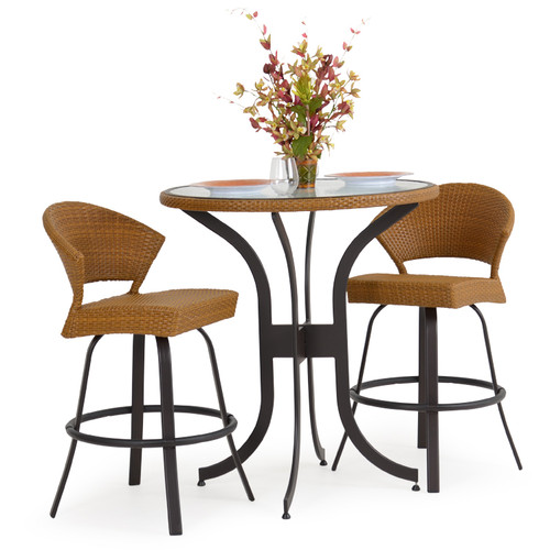 Empire 3Pc. Bar Height Patio Set