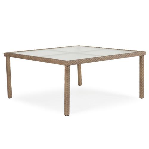 """Kokomo 62"""" Square Dining Patio Table"""