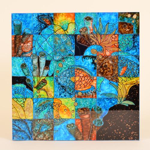 Kaleidoscope of Sea Wall Hanging , Coral