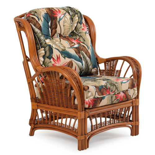 Bali Rattan High Back Chair