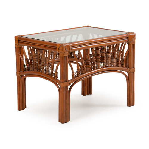 Bali Rattan End Table