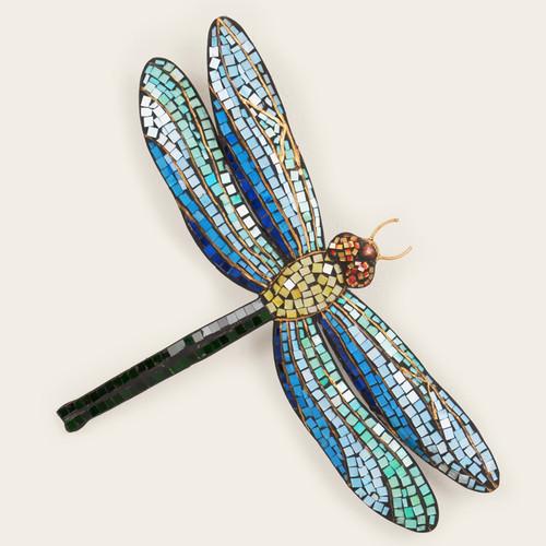 Dragonfly Mosaic Wall Art