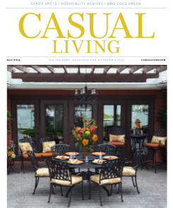 Casual Living Magazine's Cover Photo May 2014