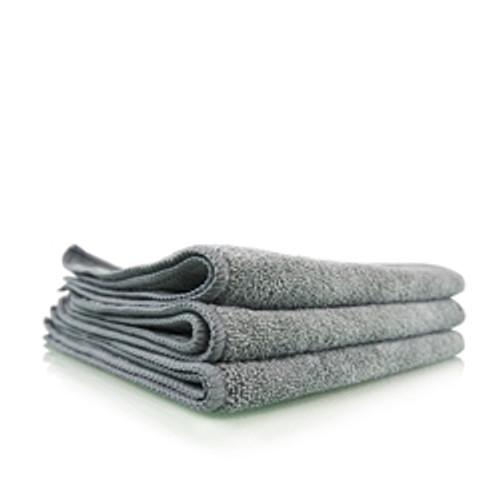 "Chemical Guys Workhorse Gray Professional Grade Microfiber Towel, 16"" x 16"" (1 pc)"