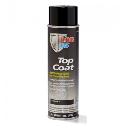 POR15 Top Coat Silver Paint (Stirling Silver) Aerosol (368g)