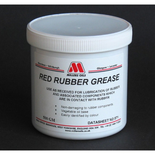 Red Rubber Grease (500g)
