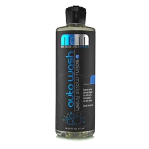 CHEMICAL GUYS METICULOUS MATTE AUTO WASH FOR SATIN FINISH & MATTE FINISH PAINT (16 OZ)