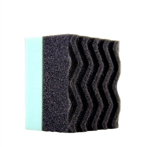 CHEMICAL GUYS ACC_300 - DURAFOAM CONTOURED LARGE TIRE DRESSING APPLICATOR PAD WITH WONDER WAVE TECHNOLOGY
