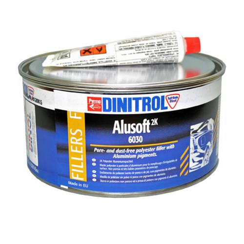 Dinitrol 6030 Alusoft Metal loaded Body Filler 2kg