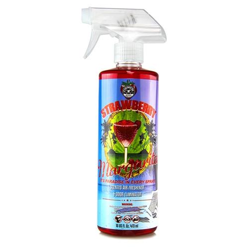 CHEMICAL GUYS AIR_223_16 - STRAWBERRY MARGARITA SCENT PREMIUM AIR FRESHENER & ODOR ELIMINATOR (16 OZ)