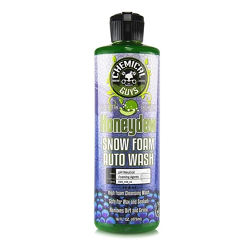 CHEMICAL GUYS - HONEYDEW SNOW FOAM AUTO WASH CLEANSER 16oz