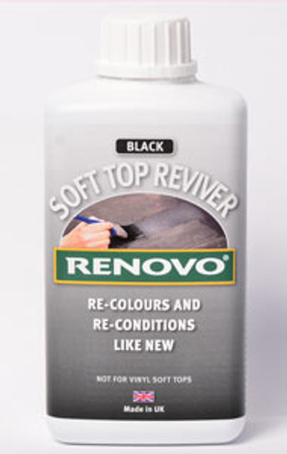 Renovo Soft Top Reviver  Black 1000ml