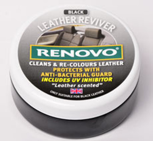Renovo Black Leather Reviver 200ml