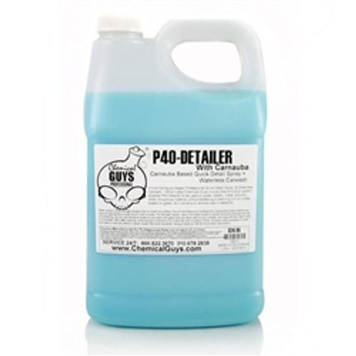 Chemical guys P40 DETAILER+1XCarnauba -Quick Detail Spray & Waterless Carwash (1 Gal)