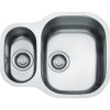 Franke Compact CPX160P Undermount 1.5 Bowls Reversible