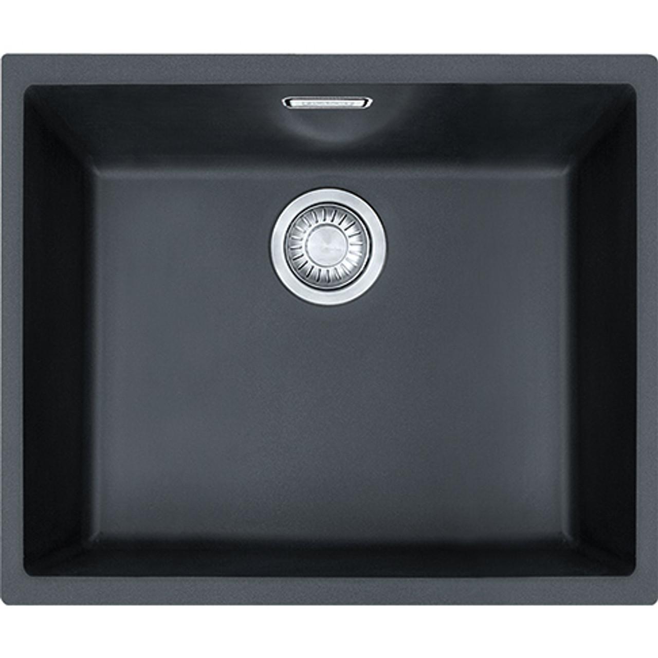 Franke Sirius SID110-50 Tectonite Carbon Black Kitchen Sink - Sinks