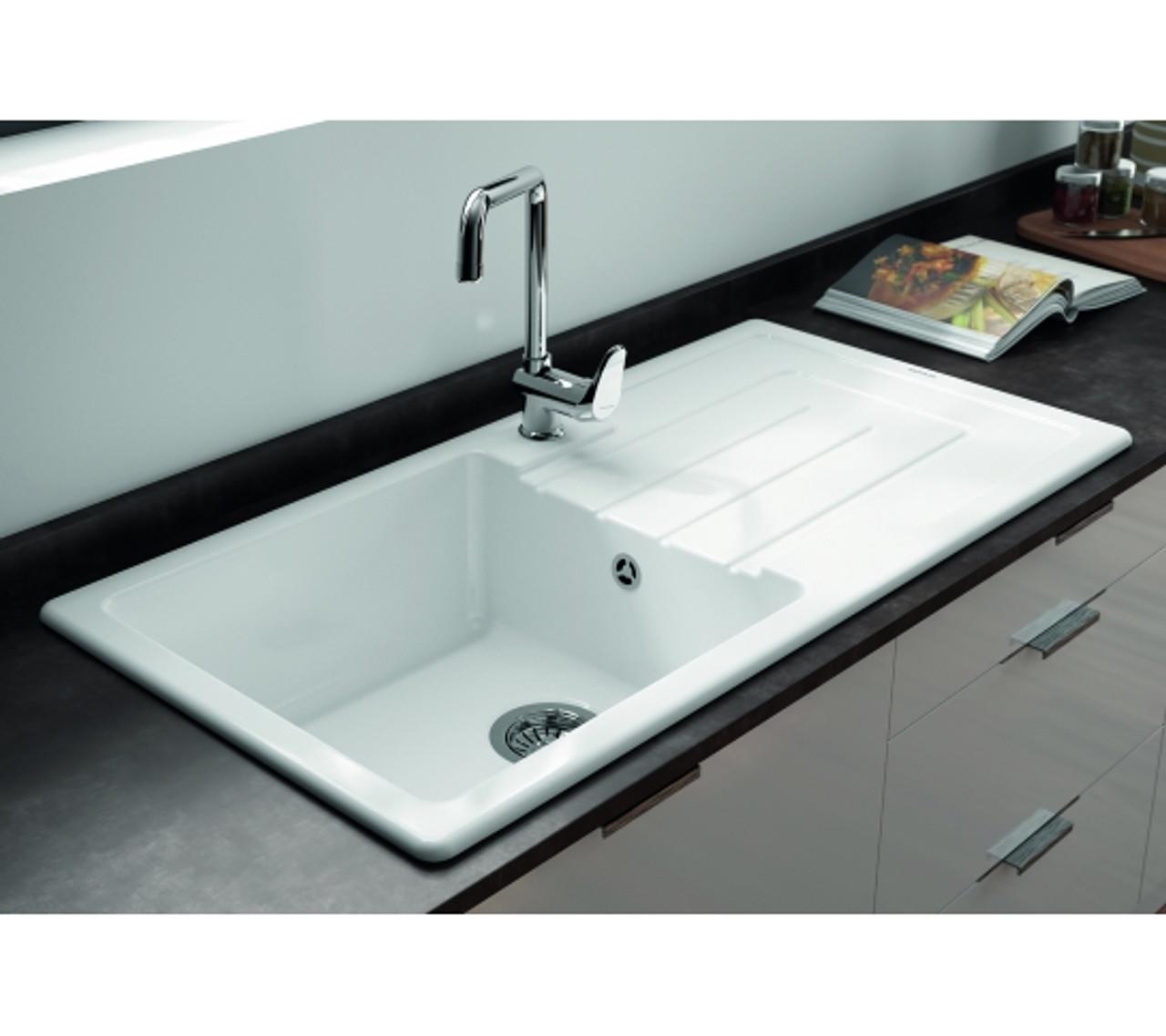 Ceramic Kitchen Sink For Mm Cabinet