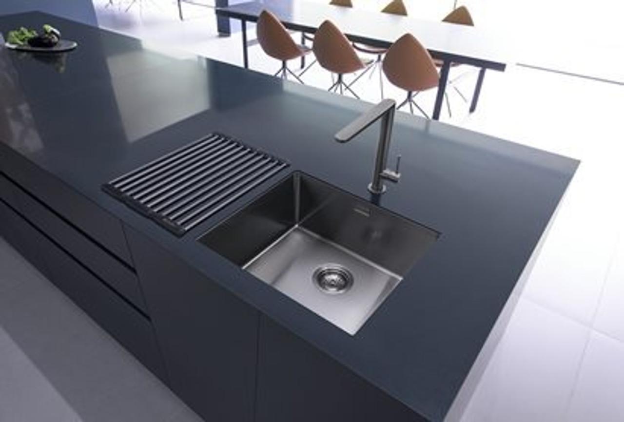 Caple MODE045/GM Gunmetal Single Bowl Kitchen Sink - Sinks