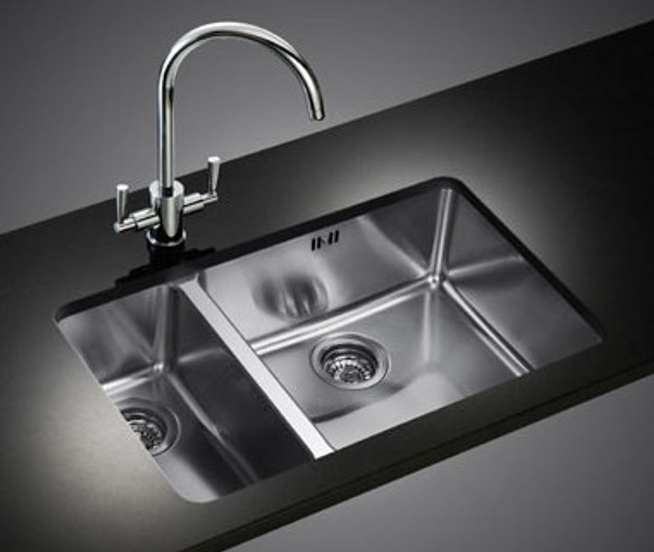 Franke Kubus KBX160 45-20 Stainless Steel Kitchen Sink - Sinks