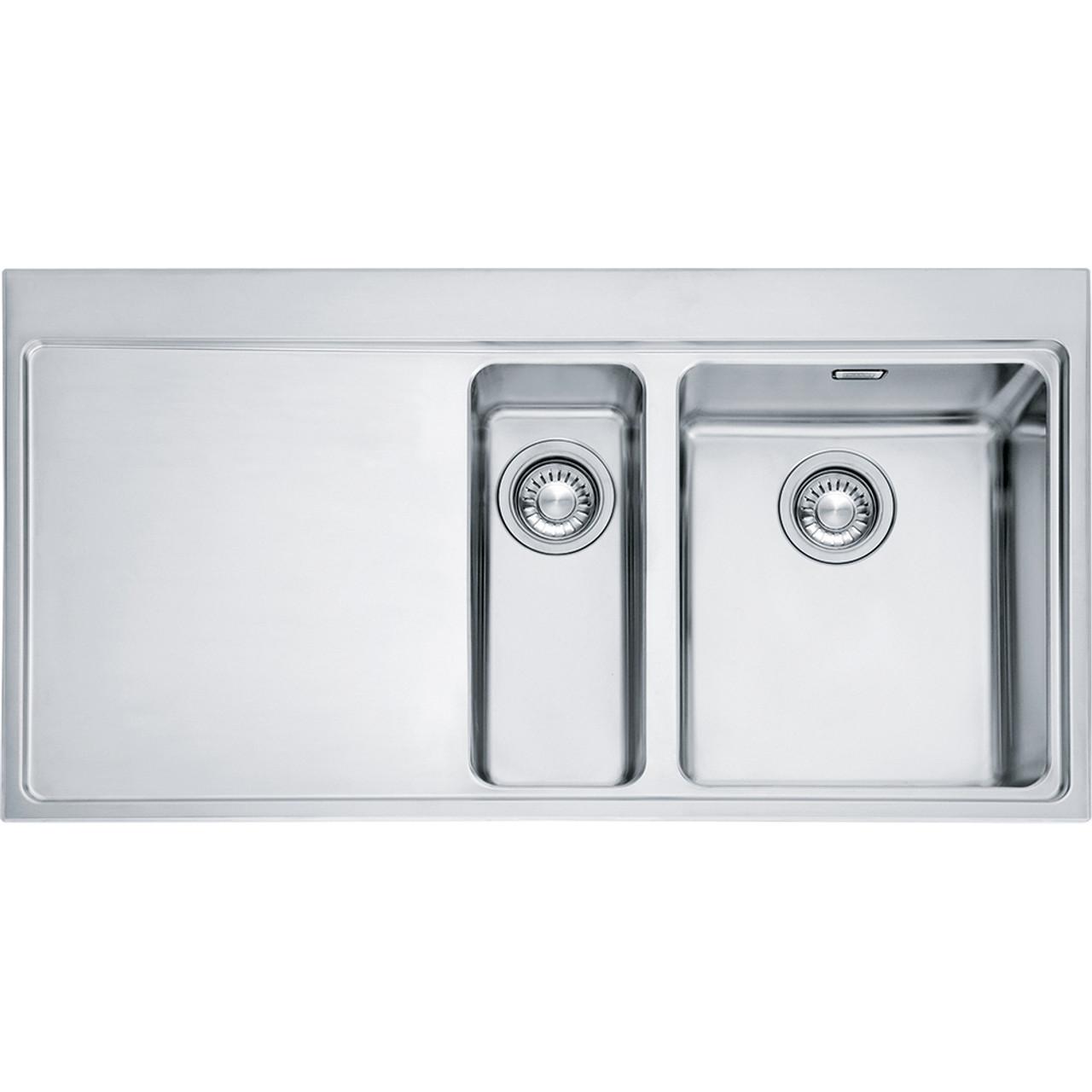 Franke mythos mmx251 stainless steel kitchen sink sinks - Kitchen sinks stainless ...