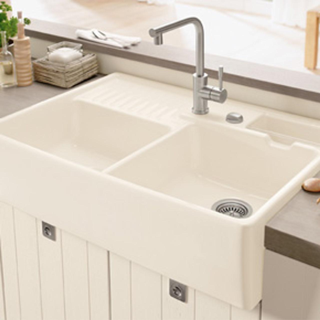 Villeroy & Boch Butler 90 (Double-bowl sink Modules) Kitchen Sink ...