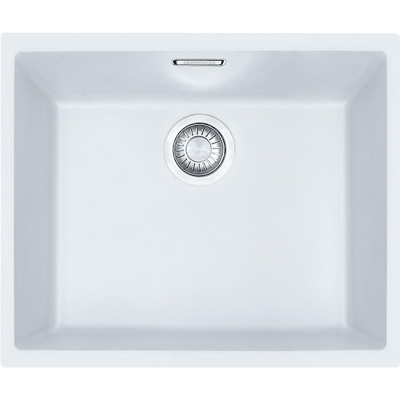 Franke Sirius SID110-50 Tectonite Polar White Kitchen Sink ...