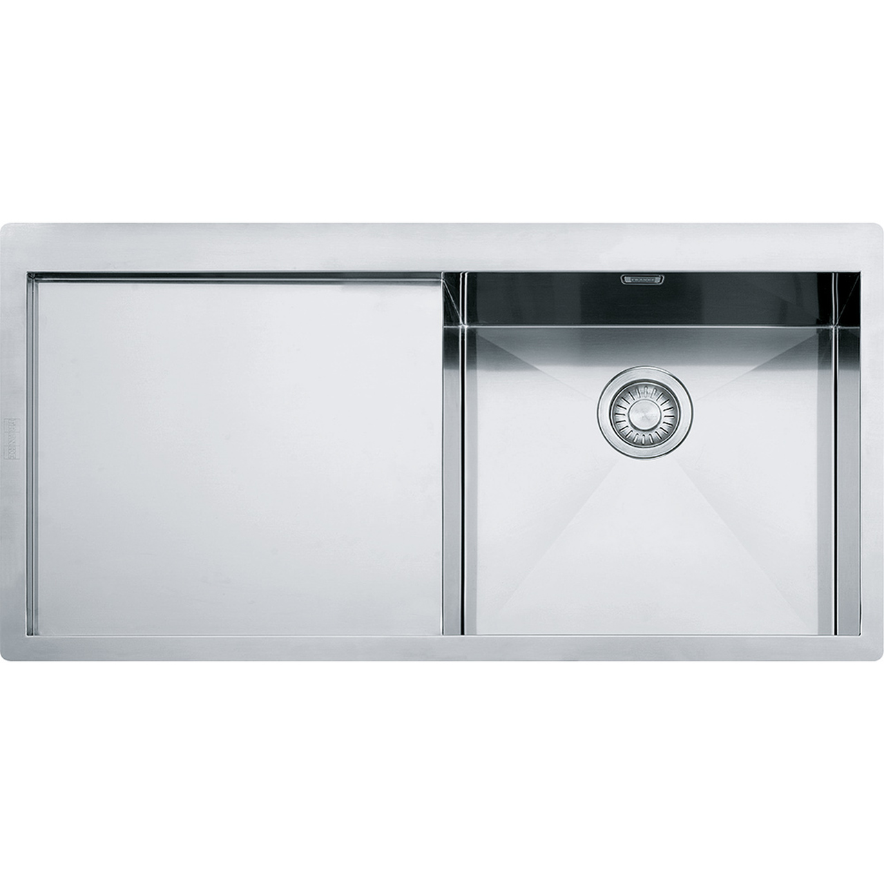 Franke Planar Slim-Top PPX211 Stainless Steel Kitchen Sink - Sinks