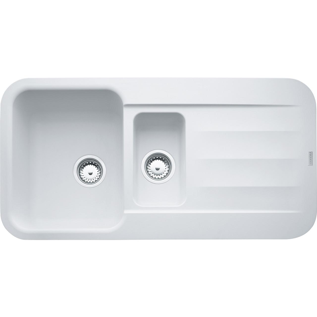 ... Franke Pebel PBG651 Fragranite Polar White Kitchen Sink ...