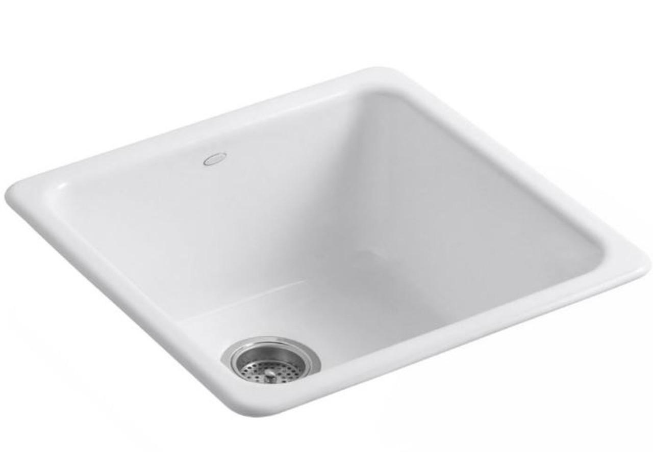 Kohler Kitchen White Cast Iron Sink Deep
