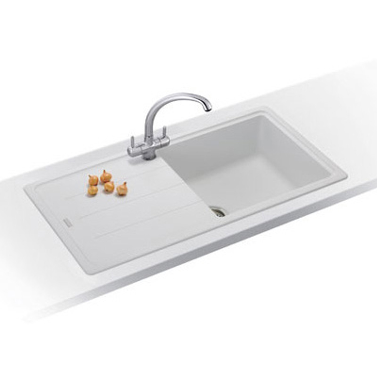 bathroom cabinet sinks franke basis bfg611 970 fragranite polar white kitchen 11147