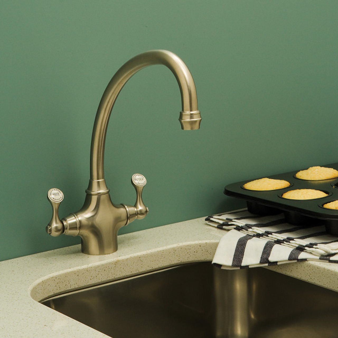 Perrin & Rowe Etruscan 4320 Kitchen Tap - Sinks